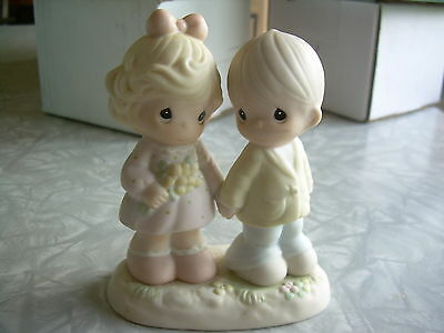 """Precious Moments """"You're Forever In My Heart"""" Figurine1996"""
