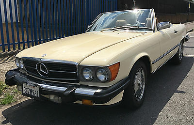 Mercedes 560Sl 1987 One Owner Full Service History