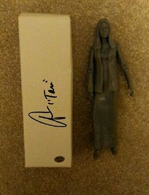 BUFFY - Triangle Tara Prototype Unpainted Action Figure, signed by Amber Benson.