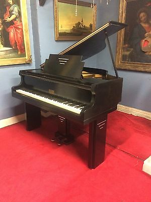Very Small Art Deco Baby Grand Piano. Free Delivery In Essex, £65 S.e England