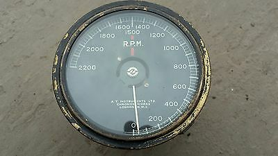 Vintage Rev counter ,Rolls Royce ,Bentley ,Lagonda