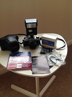 Olympus Om20 Camera and Accessories
