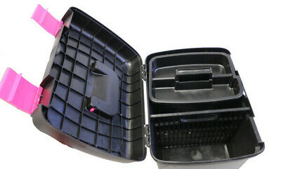 Supreme Grooming Box 40.8x30x29.5cm [Colour: Black/Hot Pink]