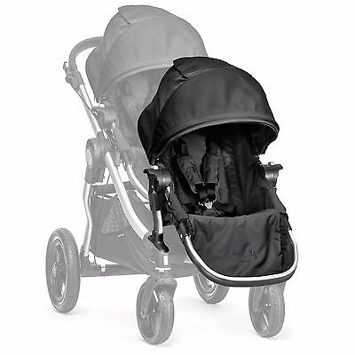 Joggers Baby Jogger City Select Second Seat Kit with Silver Frame, Onyx Black