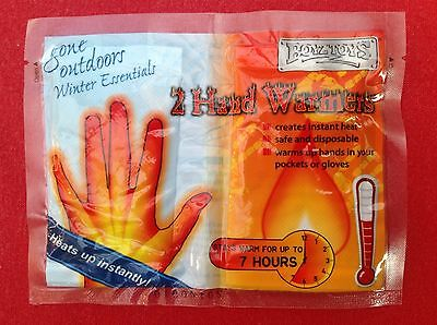 2 Boyz Toys Hand warmers (1 pack), stay warm up to 7 hours. READ DESCRIPTION..!!