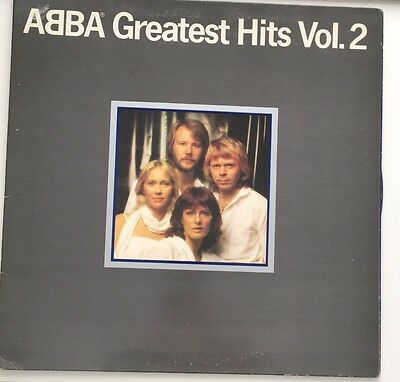 "Abba Greatest Hits Vol 2 - 12"" vinyl LP album gatefold"