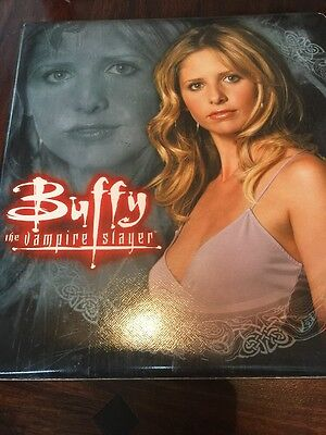 Buffy Series 5 Master Trading Card Set In Binder (no Autographs)