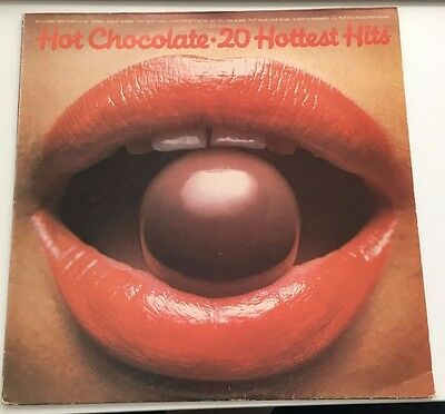 HOT CHOCOLATE ,  20 Hottest Hits 1979 UK Vinyl LP Record