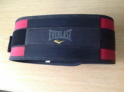 Everlast Weightlifting Belt approx 34-40ins