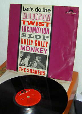 The Shakers (King Size Taylor and the Dominos) Twist Club  D 1963