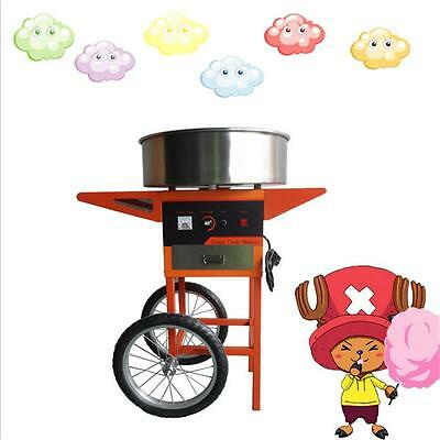 Vertical Manual Cotton Candy Machine, Automatic Multi - Functional Cotton Candy