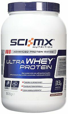 Sci-MX Nutrition 100% Ultra Whey Protein Chocolate, 908g