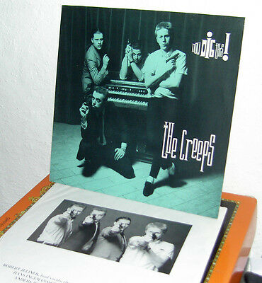 The Creeps - Now Dig this  D 1988  (neo-Beat aus Schweden)