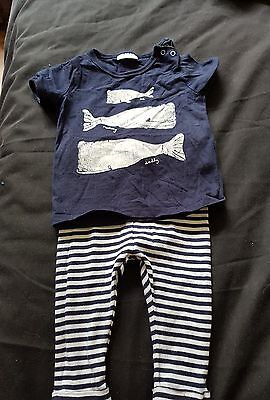 next baby boy outfit 3-6months
