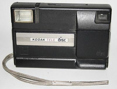Vintage Kodak Tele disk Retro Photography camera Classic Compact Eastman USA