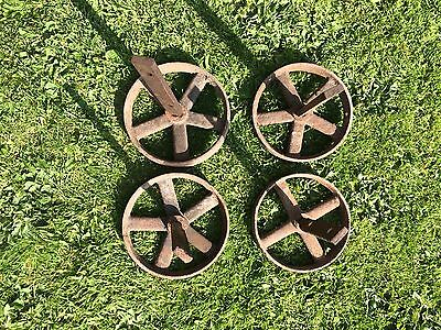 Stationary Engine Wheels And Axles