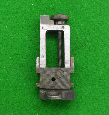 Lee Enfield original cadet training   rear sight for the NO8 .22 TARGET RIFLE