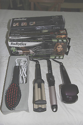 Lot  3 Fers Babyliss. Curl secret C1000E, Easy waves C260E, Pro 180 Sublim'touch