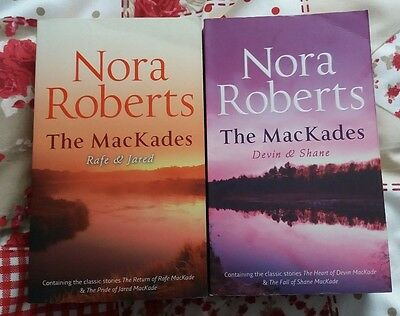 Nora Roberts - The MacKade Brothers Complete Set 1-4