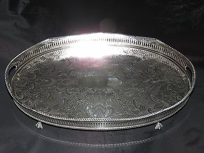 Silver Plated Drinks Tray