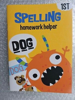 SPELLING, Educational Workbook Learning, Learn, 1st Grade Helper