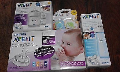 Biberons Tetines Sucettes Philips Avent Natural