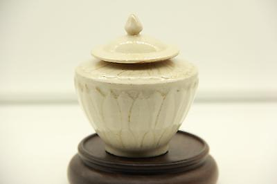 Chinese Nice Small Porcelain Covered Brush Pot Song Dynasty