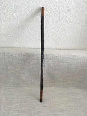 Old Walking Stick / Cane Hand Crafted Embossed Design
