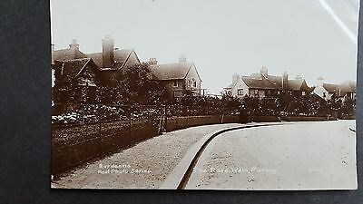 RP POSTCARD : The Rose Walk, Purley