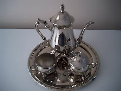 Lovely Vintage Silver Plated 3 Piece Coffee/Tea Set