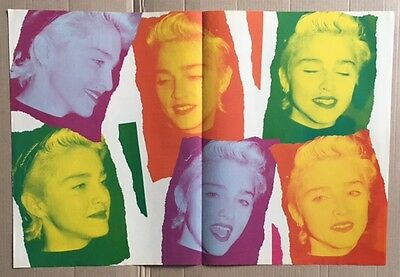 MADONNA Look-in Magazine Poster