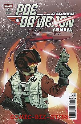 Star Wars Poe Dameron Annual #1 (2017) 1St Printing Asrar Variant Cover Marvel