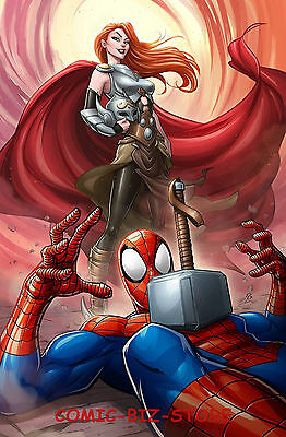Mighty Thor #20 (2017) Brown Mary Jane Variant Cover Bagged & Boarded