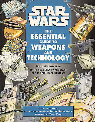 Star Wars-THE ESSENTIAL GUIDE TO WEAPONS AND TECHOLOGY-Roleplaying-RPG-very rare