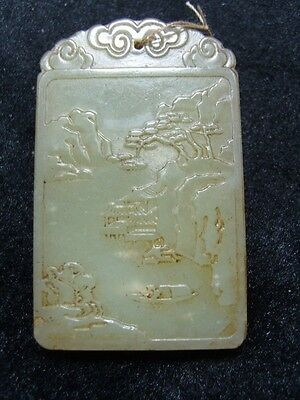 FINELY CARVED  CHINESE Jade Statue/ Pendant      a 1