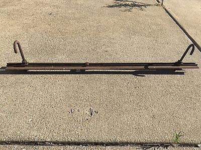 36 Inch Piece Of Myers Hay Trolley Carrier Barn Track Rail With Hangers