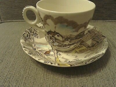 Sunday Morning By W.H Grindley Cup & Saucer
