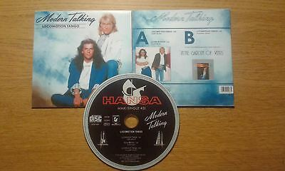 Modern Talking Locomotion Tango 1988 CDR Maxi-Single DIETER BOHLEN THOMAS ANDERS