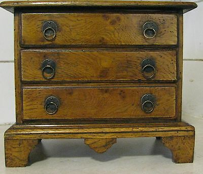 Apprentice piece Queen Anne antique reproduction oak