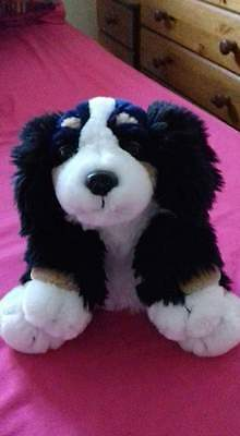 Puppy dog cuddly toy