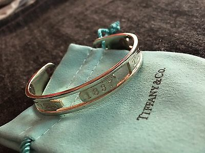 Tiffany & Co Sterling Silver Elements Cuff Bracelet 22g