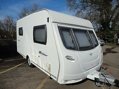 2008 LUNAR STELLAR 400 2-BERTH CARAVAN WITH MOTOR MOVER with many extras !!!