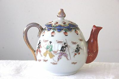 Vintage oriental chinese/japanese decorative small teapot