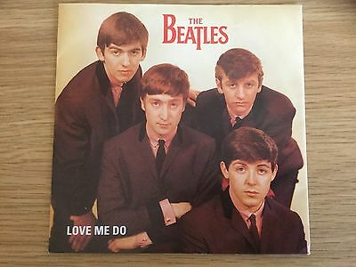 The Beatles Love Me Do 7 Inch Single 45 rpm With Picture Sleeve