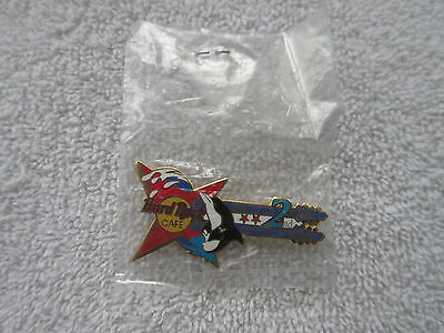 SHARM EL SHEIKH 2nd Anniversary Guitar Hard Rock Cafe Pin - new in package