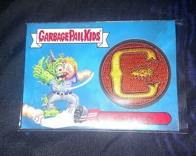 Garbage Pail Kids 2015 3 of 10 Semi Colin Relic patch card GPK