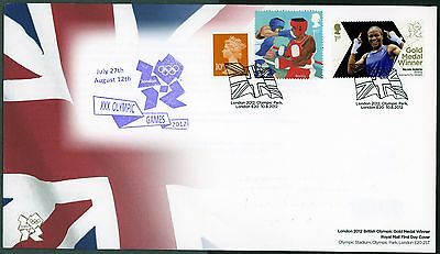 Fdc 2012 Adams Boxing  Gold Medal First Day Cover London Olympic Games