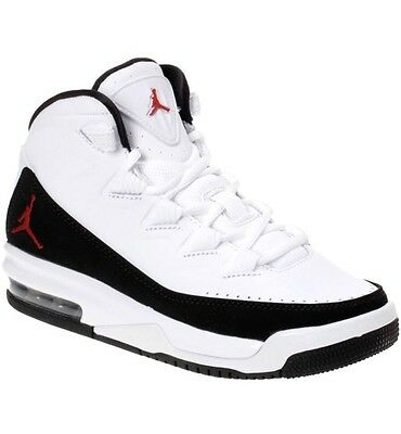 Nike Air Jordan Deluxe White/Black 7Y Brand New In Box NIB AJ Basketball Shoes