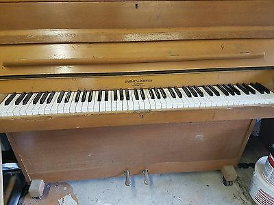 Barratt and Robinson London upright piano