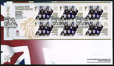 Fdc 2012 Equestrian  Gold Medal Gold Medal  First Day Cover London Olympic Games